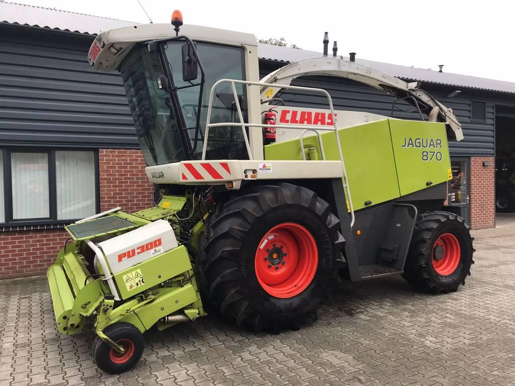 CLAAS Jaguar 870, Forage harvesters, Agriculture