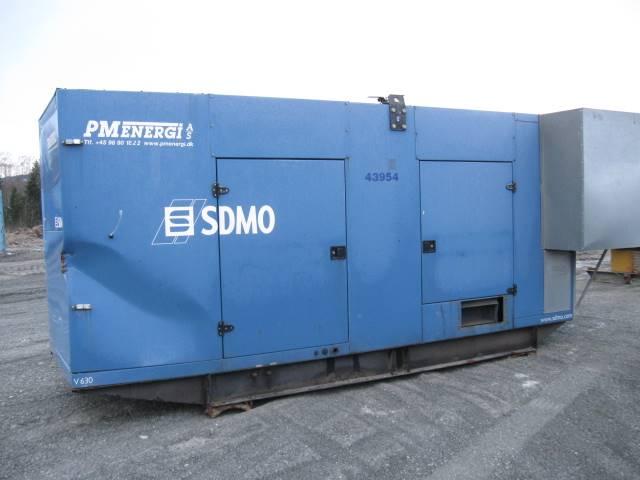 Sdmo PM Energi V700C2 - 5 Units, Dieselgeneratorer, Entreprenad
