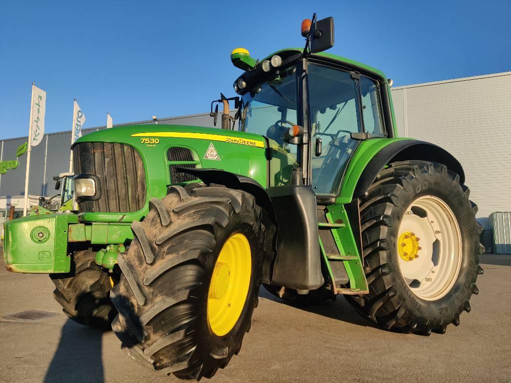 John Deere 7530 Premium AP, Traktorit, Maatalouskoneet