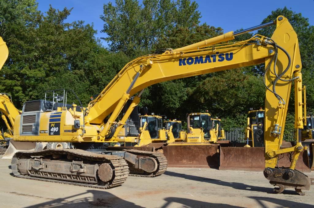 Komatsu PC490LCD-10, Crawler excavators, Construction