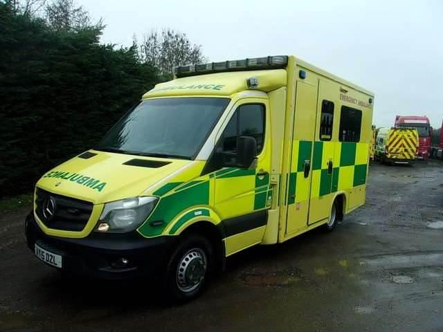 Mercedes-Benz 519 Sprinter A&E, Ambulances, Trucks and Trailers