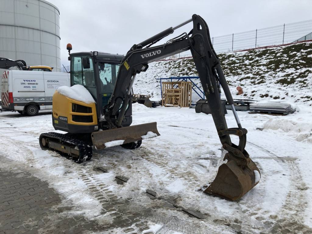 Volvo ECR40D, Mini Excavators <7t (Mini Diggers), Construction Equipment