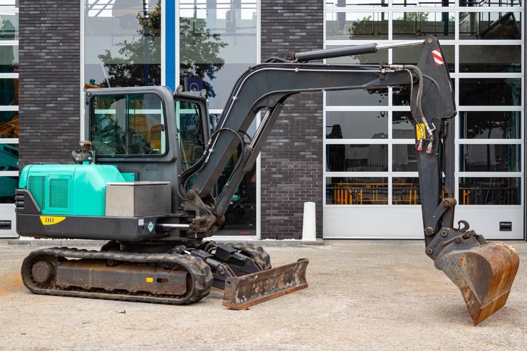 IHI 55 N4, Mini excavators, Construction