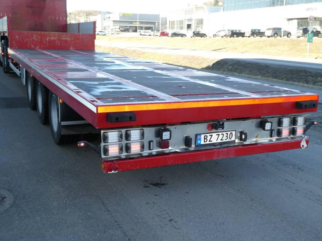Istrail 3 akslet Jumbo JU43, Planhengere, Transport
