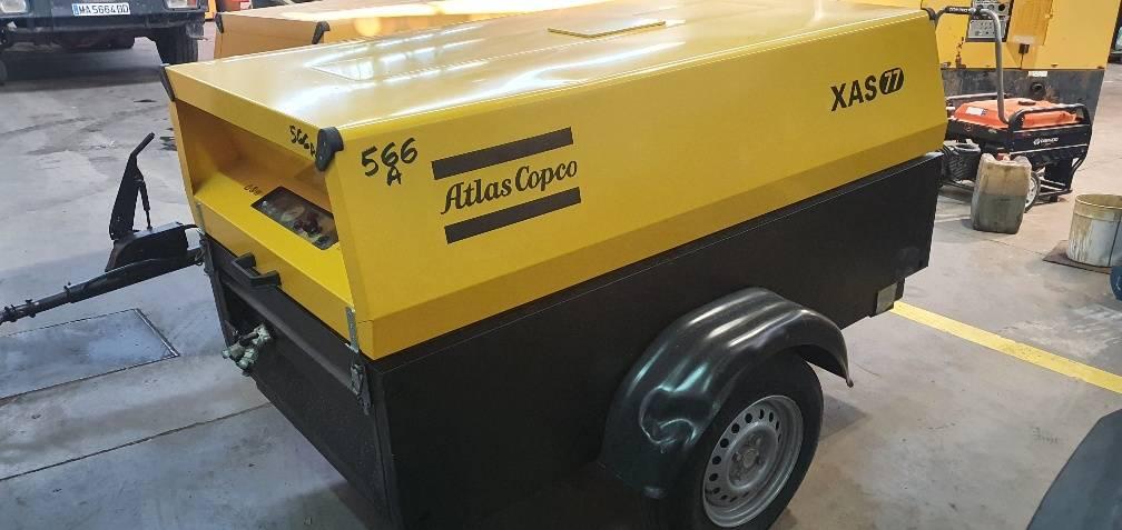 Atlas Copco XAS 77 DD, Compresores, Construcción