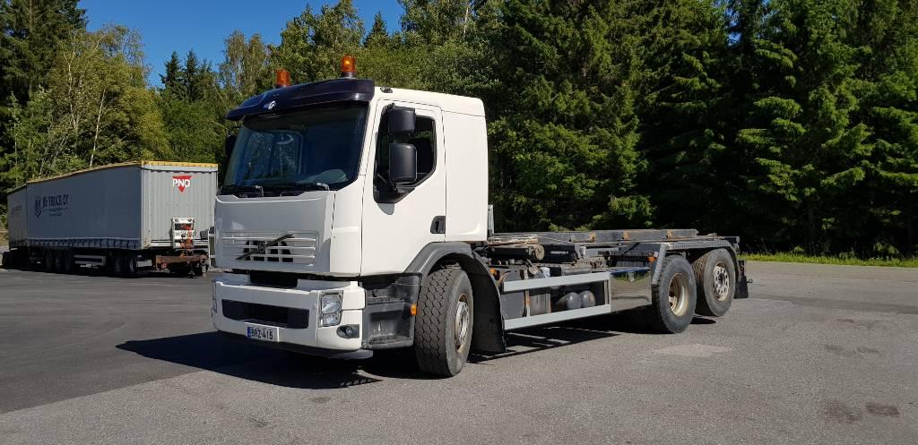 Volvo FE320, Vaihtolava-autot, Kuljetuskalusto