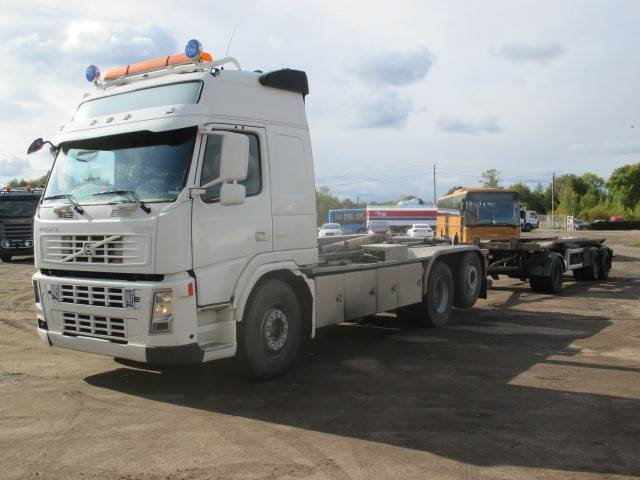 Volvo FM12 6X2 + HÜFFERMANN, Tow Trucks / Wreckers, Trucks and Trailers
