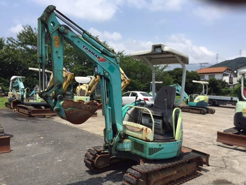 Yanmar ViO20-3, Mini excavators < 7t (Mini diggers), Construction