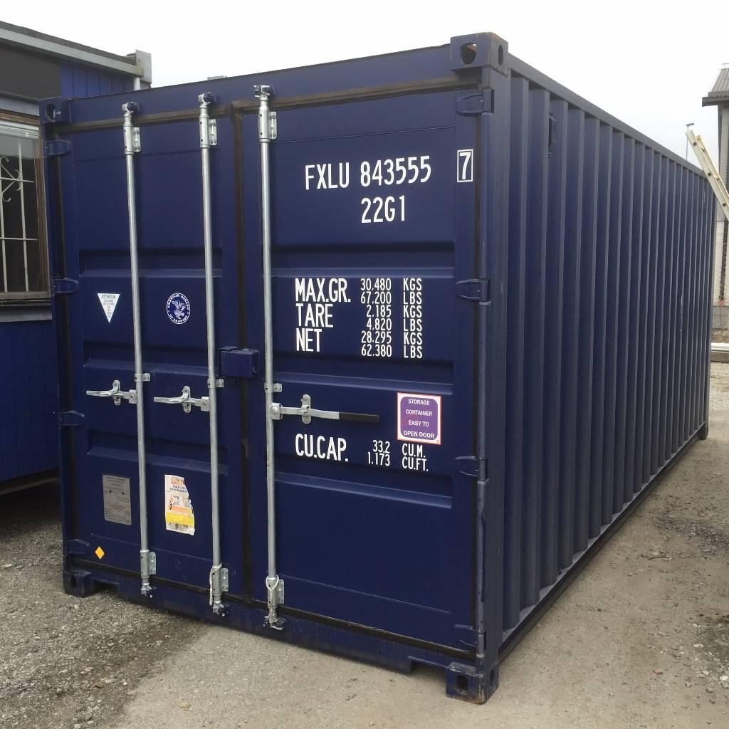 [Other] Förrådscontainer 20 fot, Sjöcontainers, Transportfordon