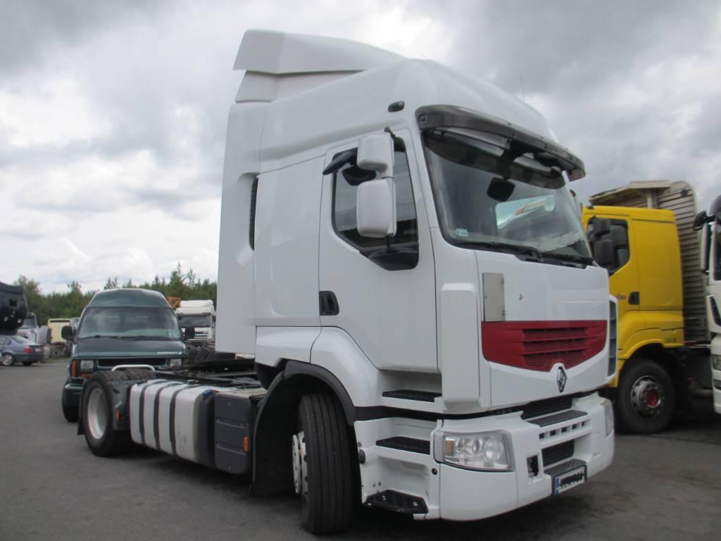 Renault Premium 460 DXI, Vetopöytäautot, Kuljetuskalusto