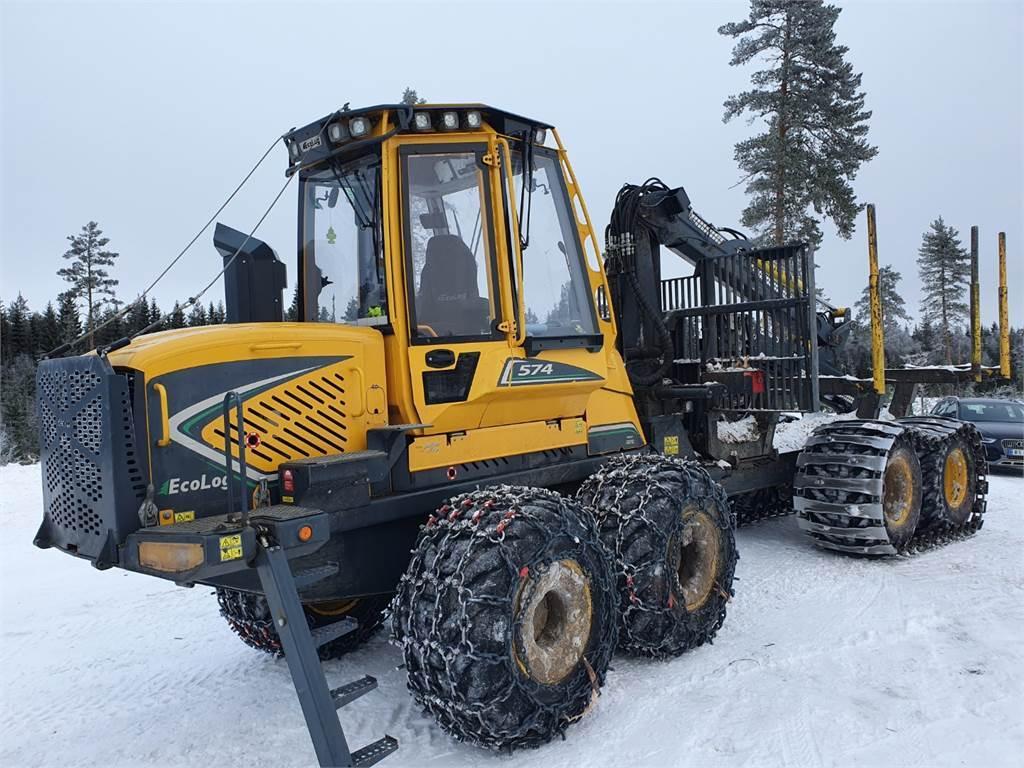 Eco Log 574E, Skotare, Skogsmaskiner