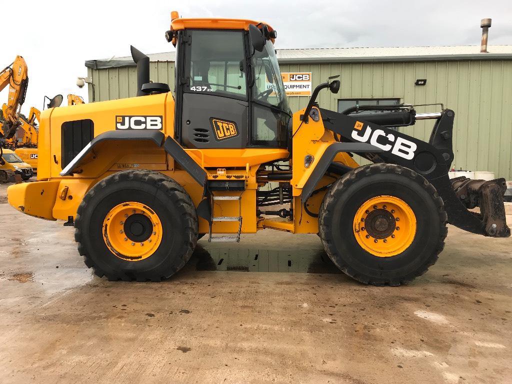 JCB 437ZX, Wheel loaders, Construction