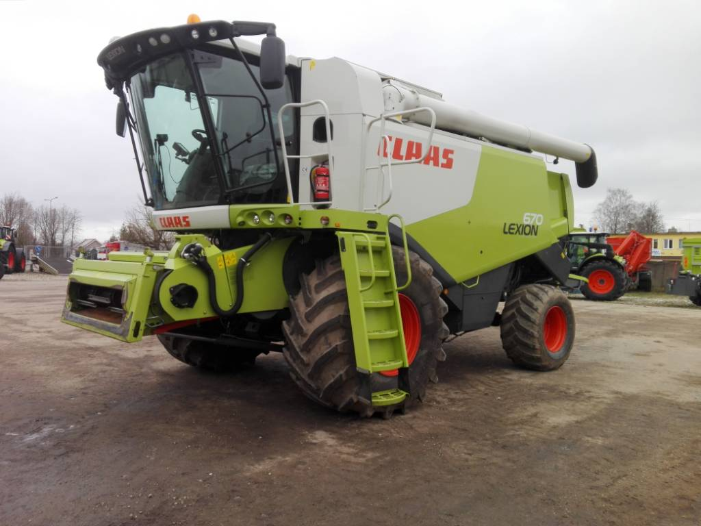 CLAAS Lexion 670, Combine harvesters, Agriculture