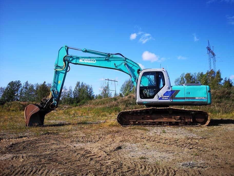 Kobelco SK210LC-6E, Гусеничные экскаваторы, Строительная техника