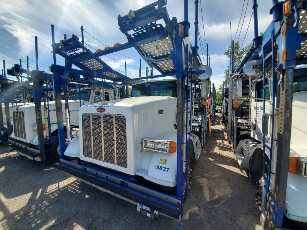 9837 Peterbilt 365, Car Haulers, Trucks and Trailers
