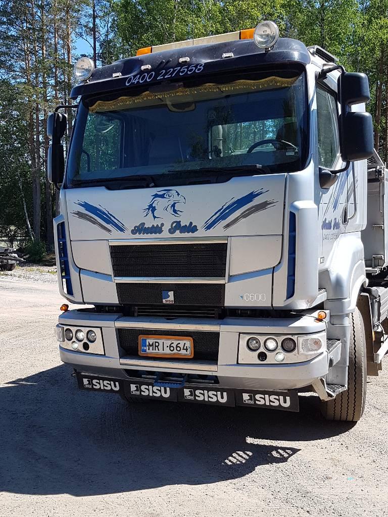 Sisu C600, Tipper trucks, Transportation
