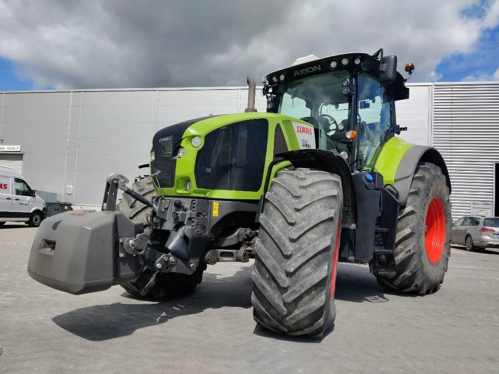 CLAAS Axion 950 Cmatic, Traktoriai, Žemės ūkis