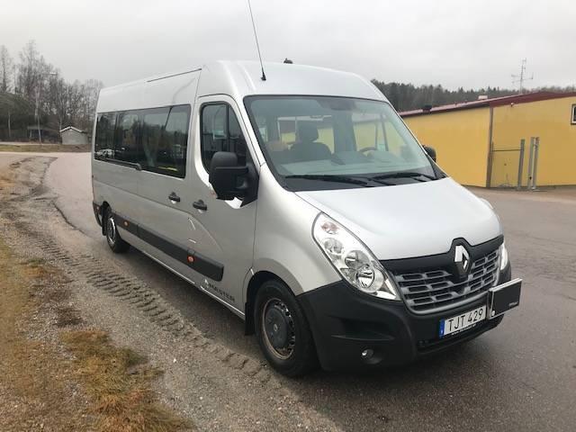 Renault MASTER FÄRDTJÄNST KLASS1 LUFTFJÄDRAD, Minibussar, Övriga fordon