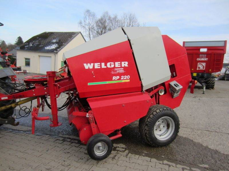 Welger RP220 Farmer, Presse à balle ronde, Agricole