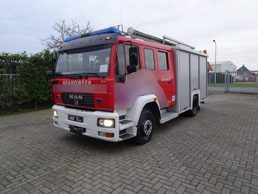 MAN L75 14L Ziegler  9.183 km!!, Fire trucks, Transportation