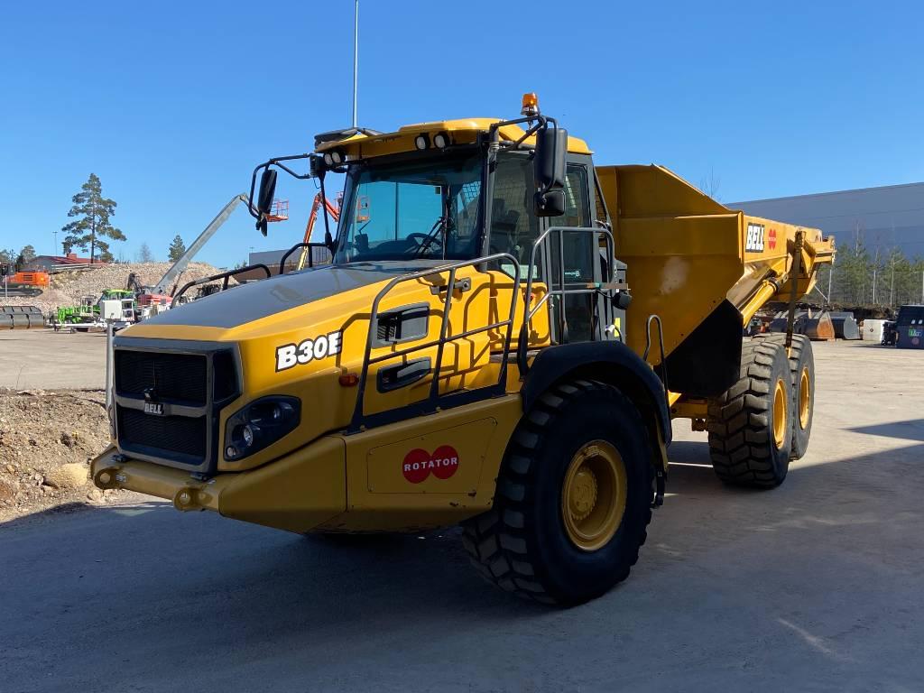 Bell B30E, Articulated Dump Trucks (ADTs), Construction