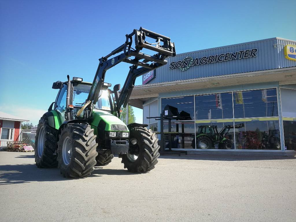 Deutz-Fahr Agrotron 105, Traktorit, Maatalous