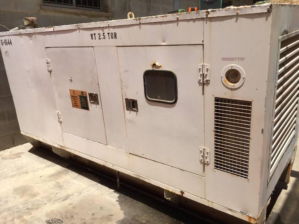 Cummins C 180, Generadores diesel, Construcción