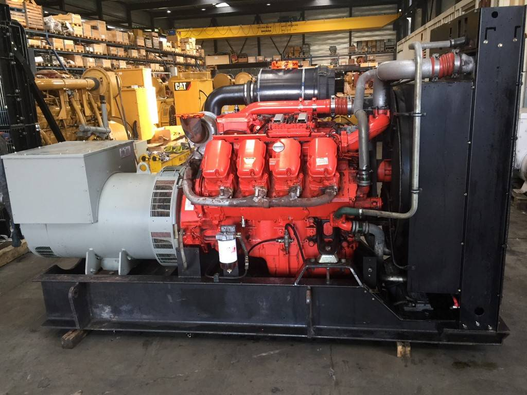 Scania DS1643A02P - Generator Set 550 kVa - DPH 105233, Diesel Generators, Construction