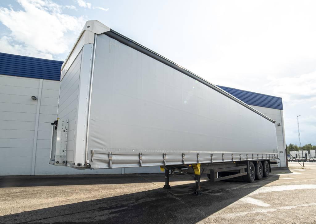 Schmitz Cargobull Trailer - 2017 nyskick, Curtain  trailers, Trucks and Trailers