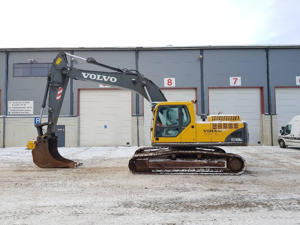 Volvo EC240BLC, Гусеничные экскаваторы, Строительная техника