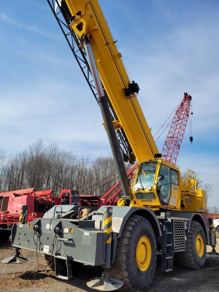 Grove RT890E, Crane Parts and Equipment, Construction Equipment