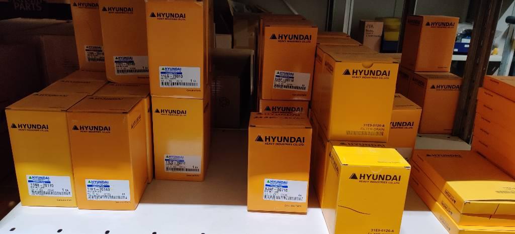 Hyundai varaosia ja suodattimia, Moottorit, Maarakennus