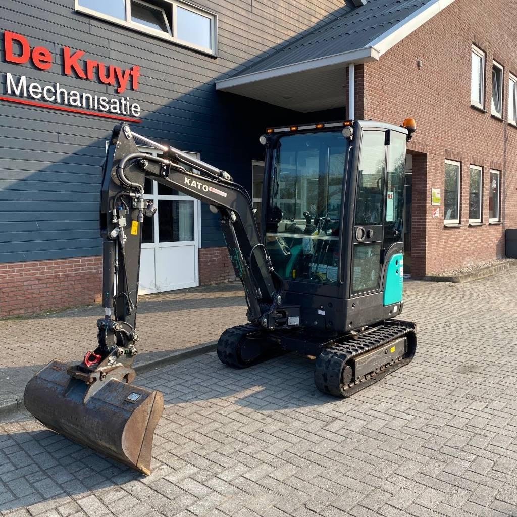 Kato IHI 19 VXT, Mini excavators, Construction