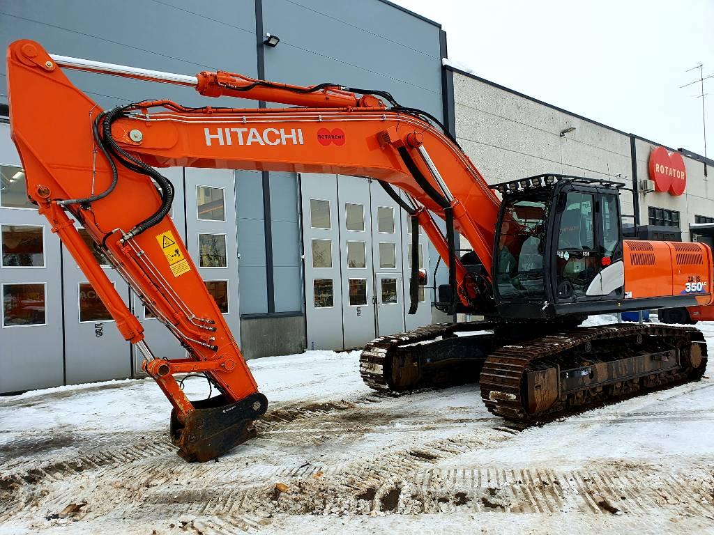 Hitachi ZX 350 LC-6 - MYYDÄÄN -, Telakaivukoneet, Maarakennus