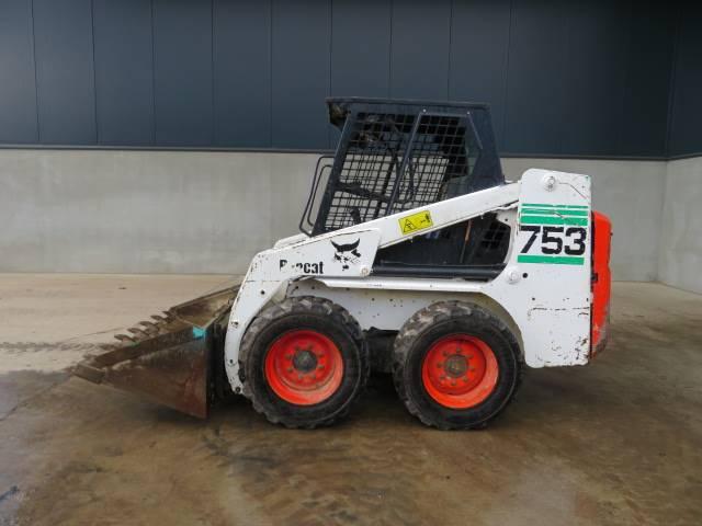 Bobcat 753 Skid Steer Loaders Construction Equipment