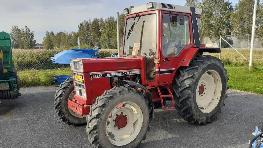 International 856 XL, Traktorit, Maatalous