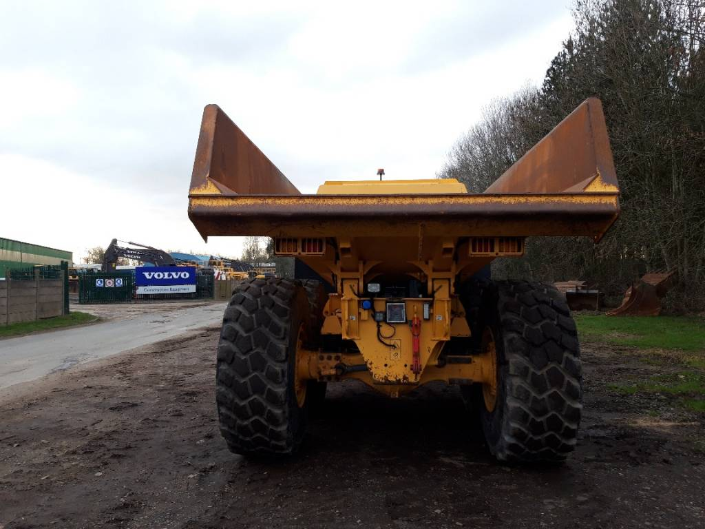 Volvo A25G, Articulated Dump Trucks (ADTs), Construction