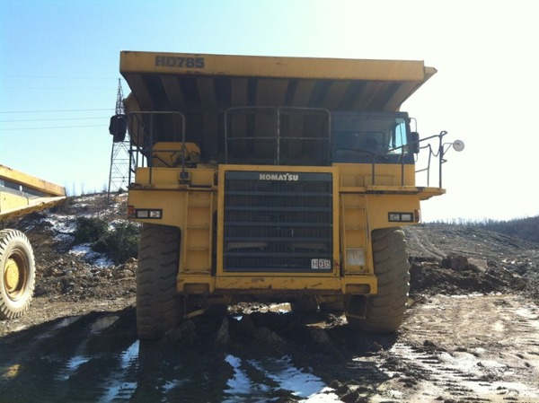 Komatsu HD785-5 H300, Rigid dump trucks, Construction Equipment