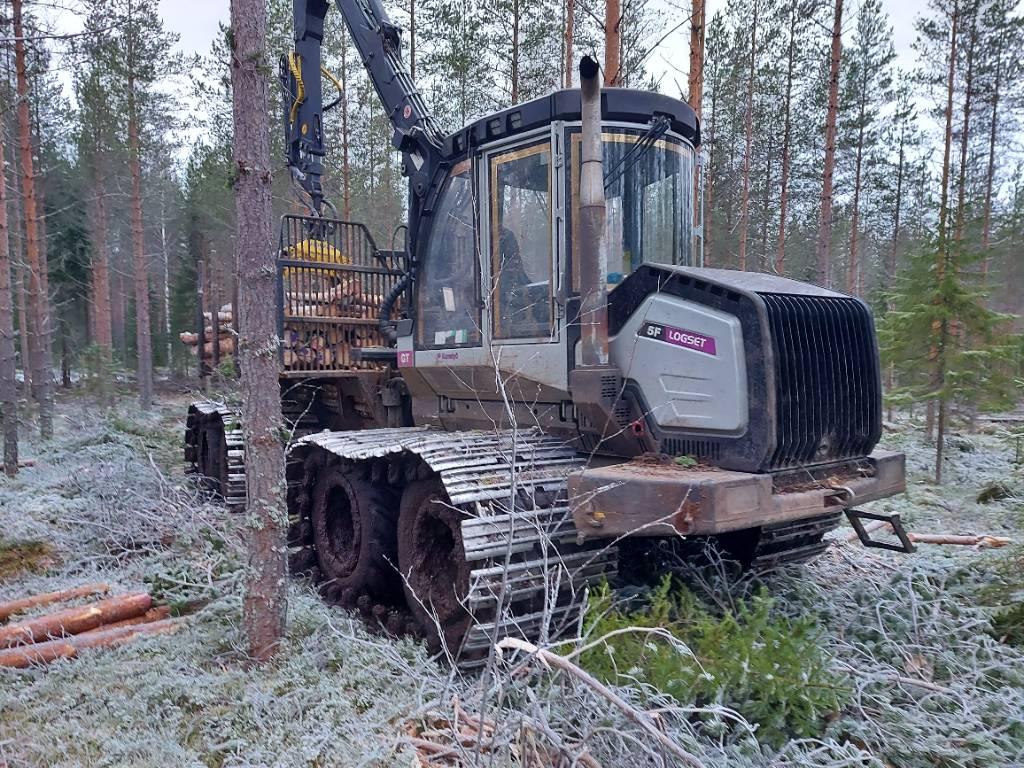 Logset 5FGT, Kuormatraktorit, Metsäkoneet