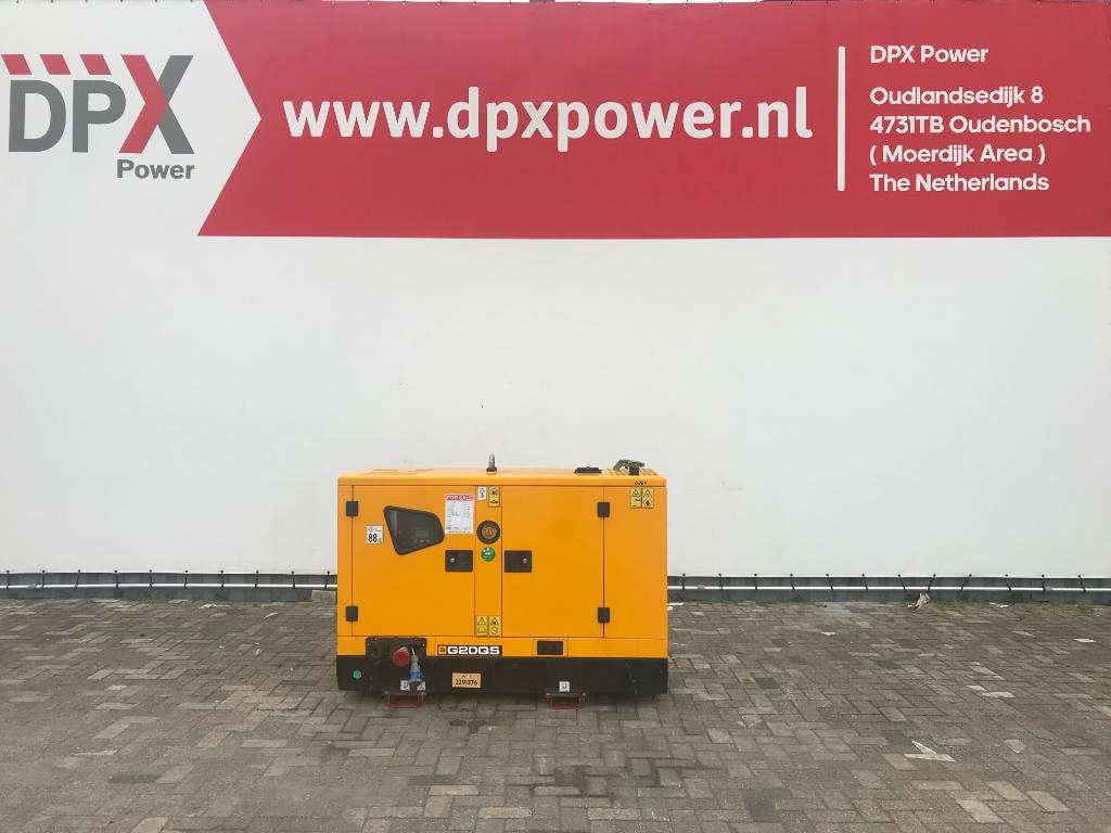 JCB G20QS - 20 kVA Generator - DPX-11864, Diesel generatoren, Bouw
