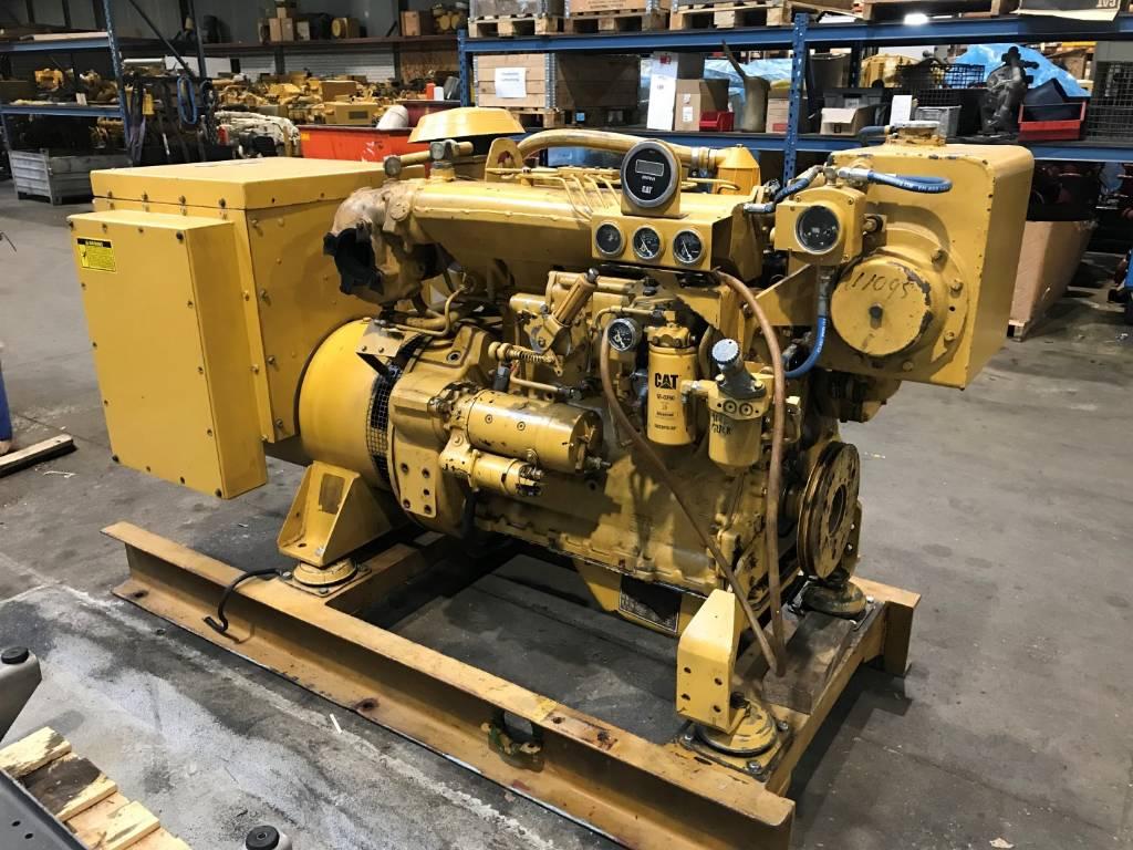 Caterpillar 3304 - Marine Generator Set 106 kVa - DPH 104942, Marine auxiliary engines, Construction