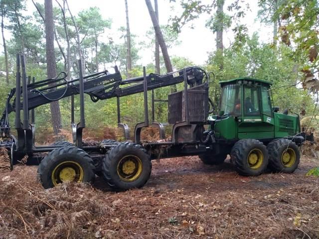 John Deere 1410 D, Forwarders, Forestry