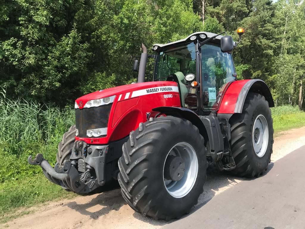 Massey Ferguson 8690, Traktoriai, Žemės ūkis