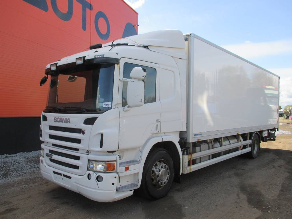 Scania P270 ETHANOL ENGINE, Reefer Trucks, Trucks and Trailers