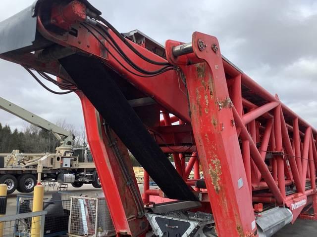 Putzmeister Telebelt TB200, Boom Pumps, Construction Equipment