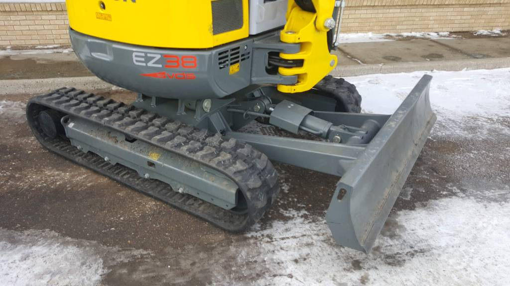 Wacker Neuson EZ38, Tracked / Mini excavators, Products