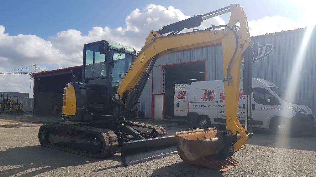 Yanmar VIO50U, Mini excavators < 7t (Mini diggers), Construction