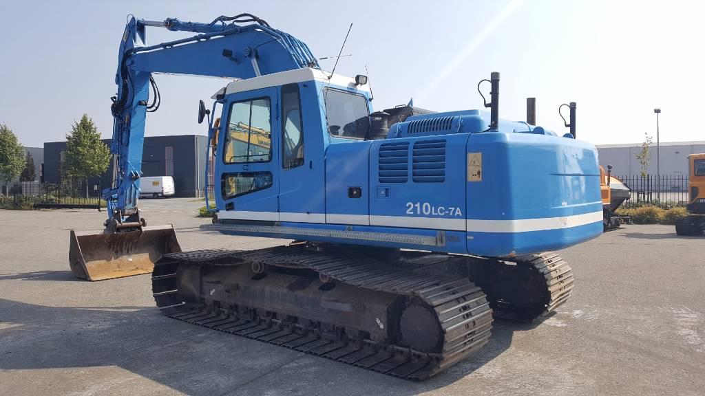 Hyundai Robex 210 LC-7 A, Crawler Excavators, Construction Equipment