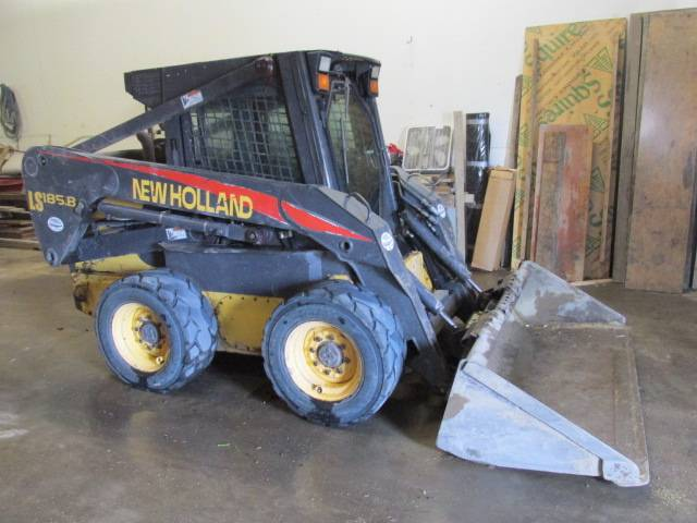 New Holland LS 185 B, Skid Steer Loaders, Construction Equipment