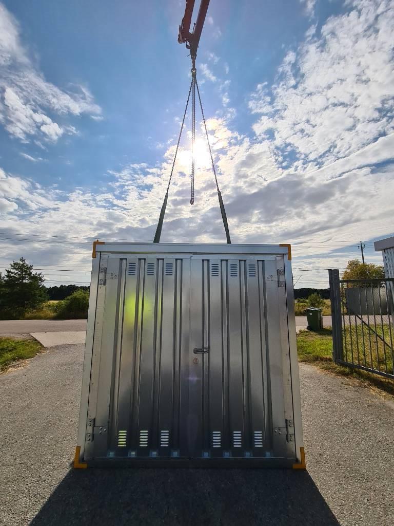 Förrådscontainer Monterbar Container 3x2M 10FOT, Förrådscontainers, Transportfordon